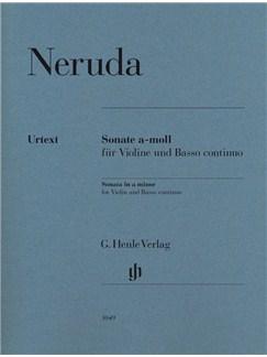 Johann Baptist Georg Neruda: Sonata In a Minor - Violin/Basso Continuo Books | Violin, Continuo