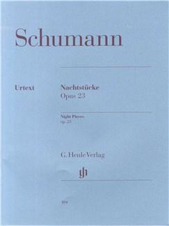 Robert Schumann: Night Pieces op. 23 Books | Piano