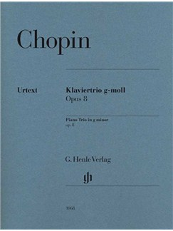 Frédéric Chopin: Piano Trio In G Minor Opus 8 Books | Piano Chamber, Violin, Cello, Chamber Group