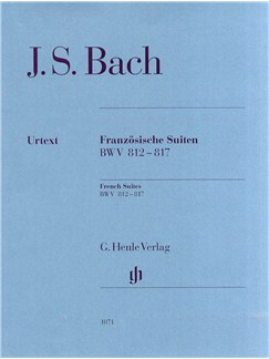 J.S. Bach: French Suites BWV 812-817 Books | Piano
