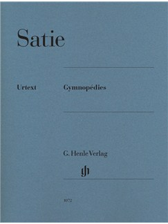 Erik Satie: Gymnopédies (Henle Urtext Edition) Books | Piano