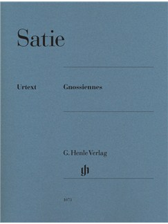 Erik Satie: Gnossiennes (Urtext Edition) Books | Piano