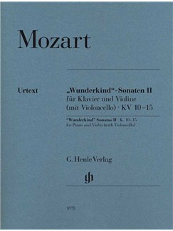 "Wolfgang Amadeus Mozart: ""Wunderkind"" Sonatas Volume 2 K.10-15 Books 