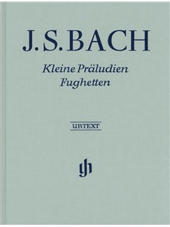 J.S. Bach: Little Preludes And Fugues (Hardback) Books | Piano