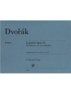 Antonín Dvorák: Legends Op. 59 Books | Piano Duet