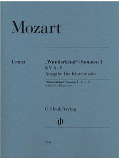 "Wolfgang Amadeus Mozart: ""Wunderkind"" Sonatas Volume 1 K.6-9 - Piano Solo Books | Piano"