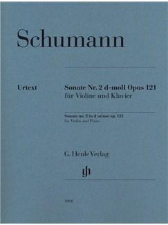 Robert Schumann: Violin Sonata No.2 In D Minor Op.121 (Urtext) Books | Violin, Piano Accompaniment