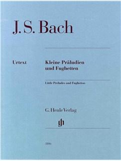 J.S. Bach: Little Preludes And Fughettas - Urtext Books | Piano
