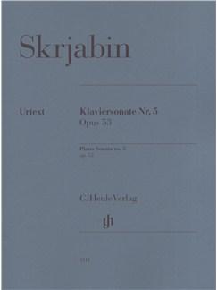 Alexander Skrjabin: Piano Sonata No.5 Op.53 Books | Piano