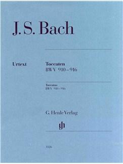 J.S. Bach: Toccata BWV 910-916 Books | Piano