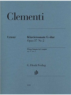 Muzio Clementi: Piano Sonata In G Op.37 No.2 Books | Piano
