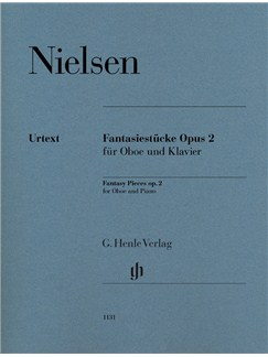 Carl Nielsen: Fantasy Pieces Op. 2 For Oboe And Piano Books | Oboe, Piano Accompaniment