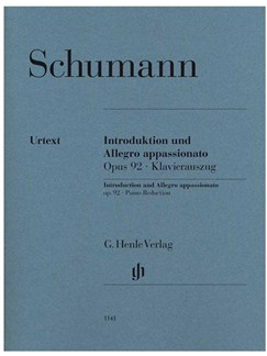 Schumann: Introduction And Allegro appassionato Op.92 Piano Reduction Books | Piano (Duet)