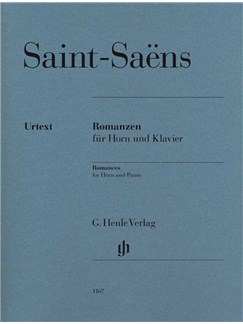 Camille Saint-Saëns: Romances - Horn And Piano Books | French Horn, Piano Accompaniment