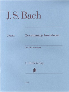 J.S. Bach: Two Part Inventions Books | Piano