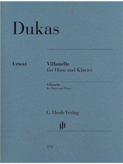 Paul Dukas: Villanelle Books | French Horn, Piano Accompaniment