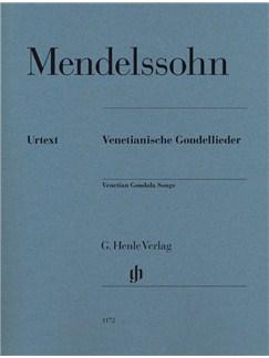 Felix Mendelssohn: Venetian Gondola Songs Books | Piano