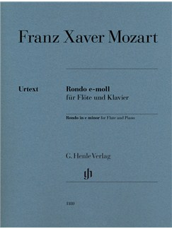 Franz Xaver Mozart: Rondo In E Minor For Flute And Piano Books | Flute, Piano Accompaniment