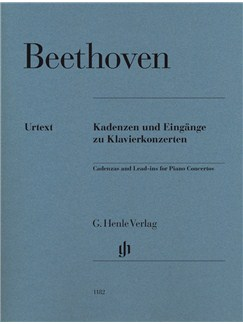 Ludwig Van Beethoven: Cadenzas And Lead-ins For Piano Concertos Books | Piano