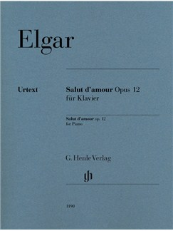 Edward Elgar: Salut d'Amour Op. 12 For Piano Books | Piano