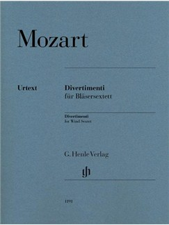 W. A. Mozart: Divertimenti For Wind Sextet (Henle Urtext Edition) Books | Wind Ensemble