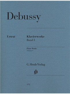 Claude Debussy: Piano Works - Volume I (Paperback) Books | Piano