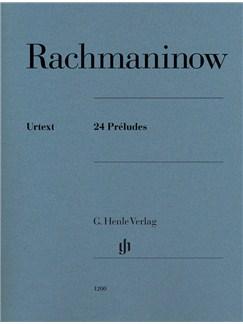 Sergei Rachmaninoff: 24 Préludes Books   Piano