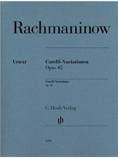 Sergei Rachmaninoff: Corelli Variations Op. 42 Books   Piano