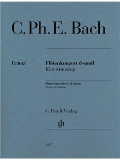C.Ph.E. Bach: Flute Concerto In D Minor Books | Flute, Piano Accompaniment