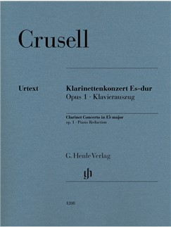 Bernhard Henrik Crusell: Clarinet Concerto In E-Flat Major Op.1 Books | Clarinet, Piano Accompaniment