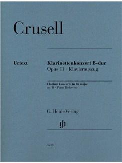 Bernhard Henrik Crusell: Clarinet Concerto B Flat Op. 11 Books   Clarinet, Piano Accompaniment