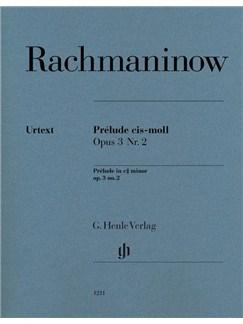 Sergei Rachmaninow: Prélude C Sharp Minor Op.3 No.2 Books | Piano