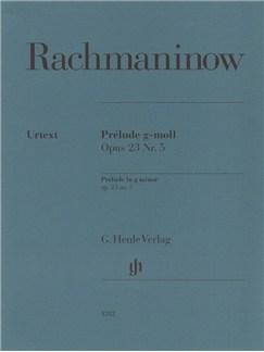 Sergei Rachmaninoff: Prélude In G Minor Op. 23 No. 5 Books | Piano