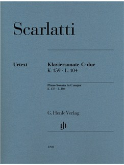 Domenico Scarlatti: Piano Sonata in C K.159 L.104 (Urtext) Books | Piano