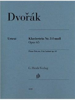 Antonín Dvorák: Piano Trio No. 3 In F Minor Op.65 Books | Violin, Viola, Cello, Piano Accompaniment