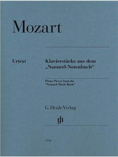 W. A. Mozart: Piano Pieces From The 'Nannerl Music Book' Books | Piano