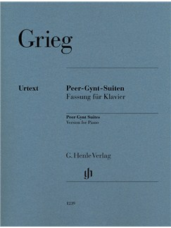 Edvard Grieg: Peer Gynt Suites Books | Piano