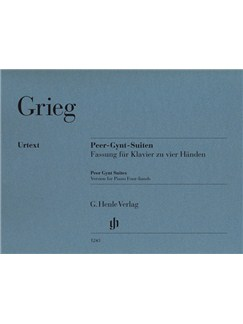 Edvard Grieg: Peer Gynt Suites - Version For Piano Four-Hands Books | Piano Duet