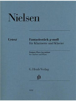 Carl Nielsen: Fantasy Piece In G Minor (Henle Urtext Edition) Books | Clarinet, Piano Accompaniment