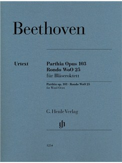 Ludwig Van Beethoven: Parthia Op. 103 - Rondo WoO 25 For Wind Octet Books | Wind Instruments (Octet)