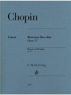 Frédéric Chopin: Berceuse In D Flat Op. 57 Books | Piano