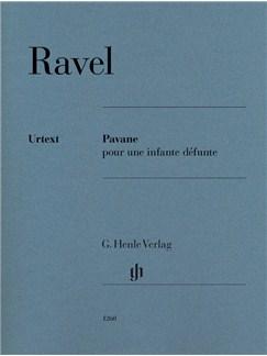 Maurice Ravel: Pavane Pour Une Infante Défunte Books | Piano