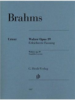 Johannes Brahms: Waltzes Op. 39 - Easy Arrangement Books | Piano
