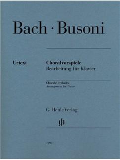 Ferruccio Busoni/Johann Sebastian Bach: Chorale Preludes Books | Piano