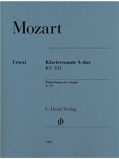W. A. Mozart: Sonata A K331 (Revised Urtext Edition) Books | Piano