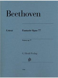 Ludwig Van Beethoven: Fantasy Op. 77 Books | Piano