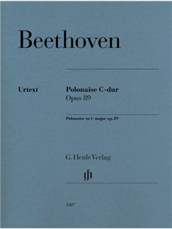 Ludwig Van Beethoven: Polonaise In C Op. 89 Libro | Piano