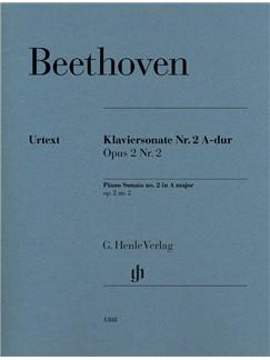 Ludwig Van Beethoven: Piano Sonata No. 2 In A Op. 2 No. 2 Libro | Piano