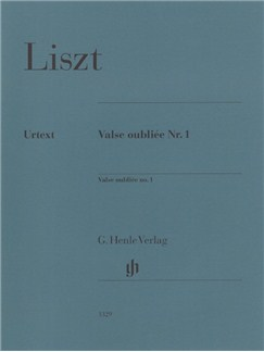 Franz Liszt: Valse Oubliée No. 1 Books | Piano