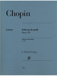 Frédéric Chopin: Scherzo In B Minor Op. 20 Books | Piano